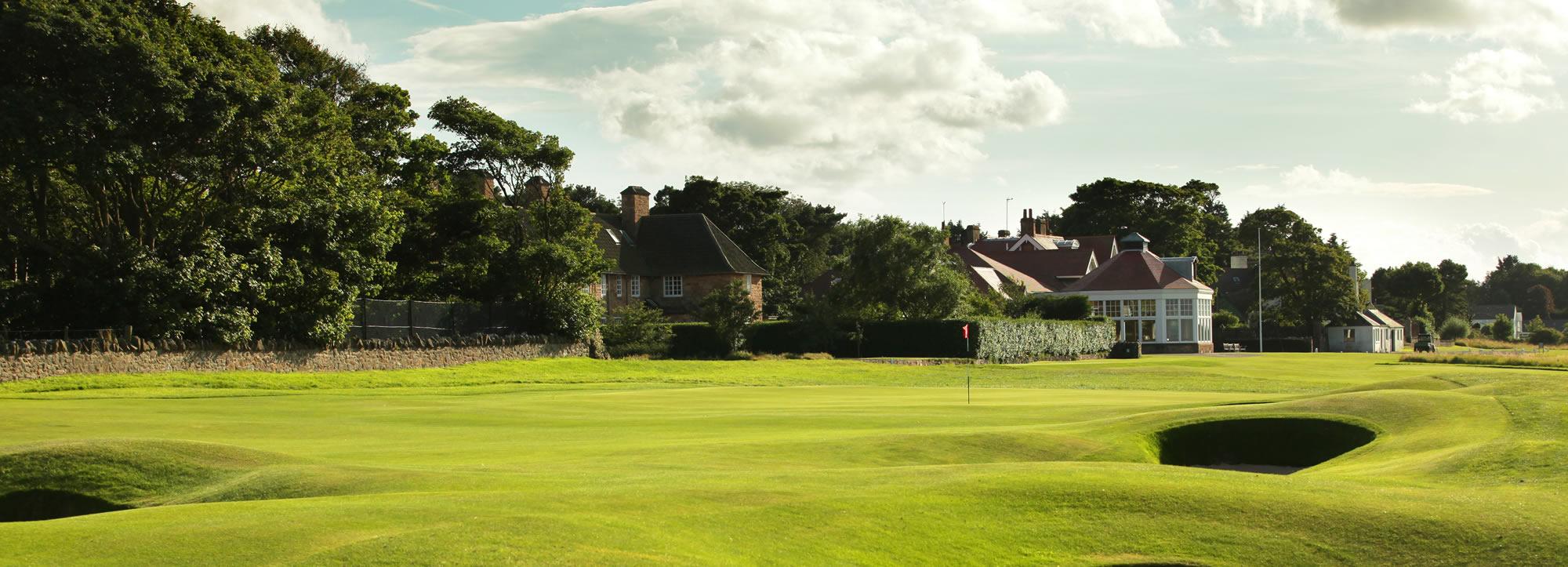 Muirfield 9th Green